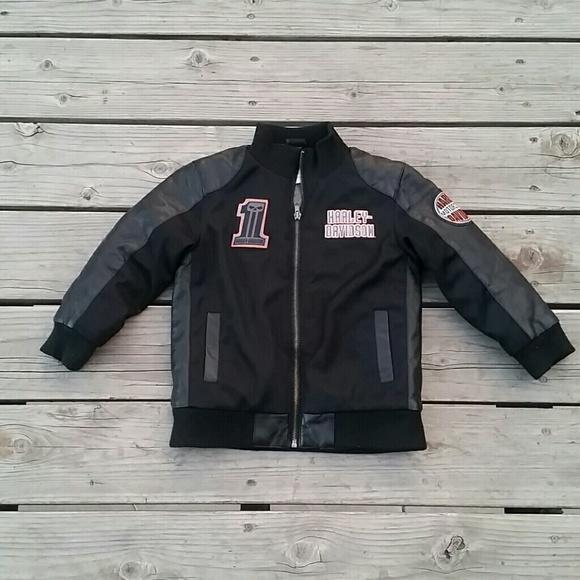 Harley-Davidson Other - Harley Davidson Kids Jacket Sz 5